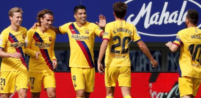 Vòng 9 La Liga: Barcelona chiếm lĩnh ngôi đầu bảng của Real Madrid