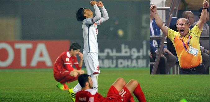 3 lần thoát hiểm khó tin của bóng đá Việt Nam thời HLV Park Hang Seo