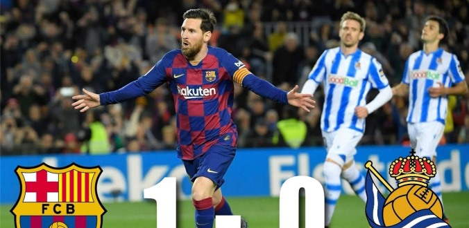 Vòng 27 La Liga: Barcelona thắng nhọc nhằn, Real Madrid bất ngờ bại trận