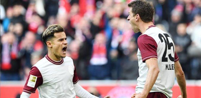 Vòng 25 Bundesliga: Bayern Munich thắng tiến, Dortmund chiếm lĩnh ngôi nhì