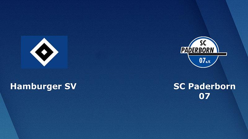 Hamburg vs Paderborn 07 – 00h30 ngày 08/12/2018 – Hạng 2 Đức - Bundesliga.2